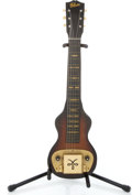 Musical Instruments:Lap Steel Guitars, Early 40's Gibson BR4 Sunburst Lap Steel Guitar #na...
