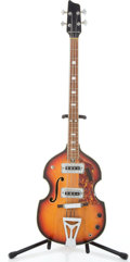 Musical Instruments:Bass Guitars, Late 1960's No-Name Sunburst Electric Bass Guitar ...