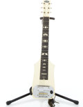 Musical Instruments:Lap Steel Guitars, 1950's Supro White Lap Steel Guitar #V29601...