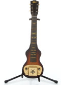 Musical Instruments:Lap Steel Guitars, 1930's Gibson EH Sunburst Lap Steel Guitar #No Serial Number...