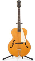 Musical Instruments:Electric Guitars, late 30's/early 40's M Wards by Gibson Archtop Blonde NaturalArchtop Acoustic Guitar #na...