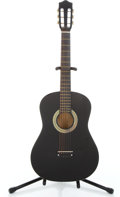 Musical Instruments:Acoustic Guitars, Recent Classical Unknown Black Classical Guitar #N/A...