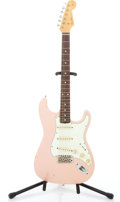 Musical Instruments:Electric Guitars, 1990's Fender Stratocaster MIJ Shell pink Solid Body ElectricGuitar #V011405...