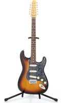 Musical Instruments:Electric Guitars, Recent Fender Stratocaster XII CIJ Sunburst Solid Body 12-StringElectric Guitar #T014161...
