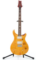 Musical Instruments:Electric Guitars, 1991 PRS Custom 24 Amber Solid Body Electric Guitar #110000...