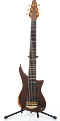 Musical Instruments:Bass Guitars, 1997 Alembic Epic 6 String Brown Electric Bass Guitar #97W10672...