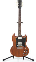 Musical Instruments:Electric Guitars, 2005 Gibson SG Faded Walnut Solid Body Electric Guitar #00115541...