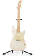 Musical Instruments:Electric Guitars, 1957 Fender Musicmaster Desert Sand Solid Body Electric Guitar#-19277...