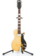 Musical Instruments:Electric Guitars, 1955 National Ozark Natural Solid Body Electric Guitar #X46306...