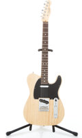 Musical Instruments:Electric Guitars, 2009 Fender USA Telecaster Natural Solid Body Electric Guitar #Z9405455...