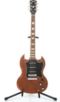 Musical Instruments:Electric Guitars, 2007 Gibson SG Faded Walnut Solid Body Electric Guitar#006470476...