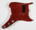 Musical Instruments:Miscellaneous, 1958 Fender Musicmaster Anodized Pickguard with Electronics...