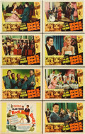 "Movie Posters:Rock and Roll, Rock, Rock, Rock (DCA, 1956). Lobby Card Set of 8 (11"" X 14"").. ...(Total: 8 Items)"