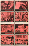 """Movie Posters:Thriller, The Manchurian Candidate (United Artists, 1962). Lobby Card Set of 8 (11"""" X 14"""").. ... (Total: 8 Items)"""