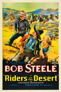 "Riders of the Desert (Sono Art-World Wide Pictures, 1935). One Sheet (27"" X 41"")"