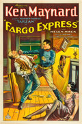 "Movie Posters:Western, Fargo Express (Worldwide Pictures, 1932). One Sheet (27"" X 41"").. ..."