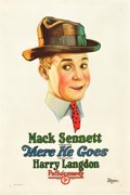 """Movie Posters:Comedy, There He Goes (Pathé, 1925). One Sheet (27"""" X 41"""").. ..."""