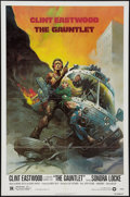 "Movie Posters:Action, The Gauntlet (Warner Brothers, 1977). One Sheet (27"" X 41""). Action.. ..."