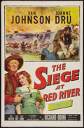 """Movie Posters:Western, The Siege at Red River Lot (20th Century Fox, 1954). One Sheets (2) (27"""" X 41""""). Western.. ... (Total: 2 Items)"""