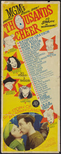 """Movie Posters:Musical, Thousands Cheer Lot (MGM, 1943). Inserts (2) (14"""" X 36""""). Musical.. ... (Total: 2 Items)"""
