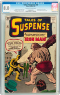 Silver Age (1956-1969):Superhero, Tales of Suspense #40 (Marvel, 1963) CGC VF 8.0 Off-white to white pages....