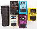 Musical Instruments:Amplifiers, PA, & Effects, Boss Effects Pedal Lot... (Total: 6 Items)