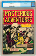 Golden Age (1938-1955):Horror, Mysterious Adventures #6 Bethlehem pedigree (Story Comics, 1952)CGC VF/NM 9.0 Cream to off-white pages....
