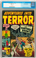 Golden Age (1938-1955):Horror, Adventures Into Terror #4 Palo Alto pedigree (Atlas, 1951) CGC NM-9.2 Off-white pages....
