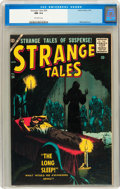 Silver Age (1956-1969):Horror, Strange Tales #54 (Atlas, 1957) CGC NM 9.4 Off-white pages....