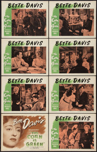 """The Corn Is Green (Warner Brothers, 1945). Lobby Card Set of 8 (11"""" X 14""""). Drama. ... (Total: 8 Items)"""