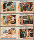 """Movie Posters:Comedy, The Bride Came C.O.D. (Warner Brothers, 1941). Title Lobby Card and Lobby Cards (5) (11"""" X 14""""). Comedy.. ... (Total: 6 Items)"""