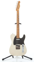 Musical Instruments:Electric Guitars, 1957 Fender Telecaster Blonde Solid Body Electric Guitar #-17626...