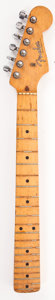 Musical Instruments:Miscellaneous, 1958 Fender Musicmaster Maple Electric Guitar Neck...