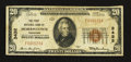 National Bank Notes:Tennessee, Morristown, TN - $20 1929 Ty. 1 The First NB Ch. # 3432. ...
