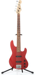 Musical Instruments:Bass Guitars, 1992 Fender Jazz Bass Red Electric Bass Guitar #N2006983...