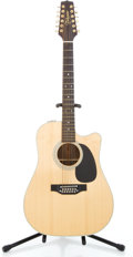 Musical Instruments:Acoustic Guitars, Takamine EF400C Natural 12 String Acoustic Guitar #84111490...