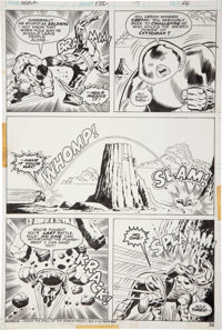 Herb Trimpe and Jack Abel Incredible Hulk #172 Juggernaut page 26 Original Art (Marvel, 1974)