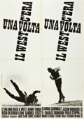 "Movie Posters:Western, Once Upon a Time in the West (Euro International, 1968). Italian 2- Foglio (39"" X 55"").. ..."
