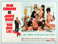 "Movie Posters:James Bond, You Only Live Twice (United Artists, 1967). Subway (45"" X 59.25"")....."