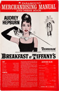 "Movie Posters:Romance, Breakfast at Tiffany's (Paramount, 1961). Uncut Pressbook (16Pages, 12.25"" X 18.75"").. ..."