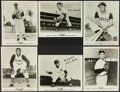 Baseball Cards:Sets, 1950's-70's Wilson Advisory Staff Premium Photos (6) with Clemente and Banks. ...