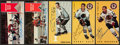 Hockey Cards:Lots, Hockey Stars Signed Parkhurst Cards Lot of 5....