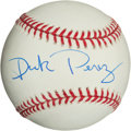Autographs:Baseballs, Dick Perez Single Signed Baseball. ...