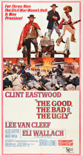 "Movie Posters:Western, The Good, the Bad and the Ugly (United Artists, 1968). Three Sheet (41"" X 81"").. ..."