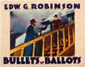 "Movie Posters:Crime, Bullets or Ballots (Warner Brothers, 1936). Lobby Card (11"" X14"").. ..."