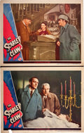 "Movie Posters:Mystery, The Scarlet Claw (Universal, 1944). Lobby Cards (2) (11"" X 14"")..... (Total: 2 Items)"