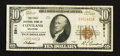 National Bank Notes:Oklahoma, Cleveland, OK - $10 1929 Ty. 1 The First NB Ch. # 5911. ...
