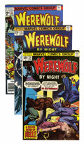 Bronze Age (1970-1979):Horror, Werewolf by Night Group (Marvel, 1974-77) Condition: AverageVF+.... (Total: 17 Comic Books)