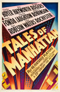 """Movie Posters:Drama, Tales of Manhattan (20th Century Fox, 1942). One Sheet (27"""" X 41"""")Style A.. ..."""