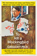 "Movie Posters:Drama, To Kill a Mockingbird (Universal, 1963). One Sheet (27"" X 41"")....."